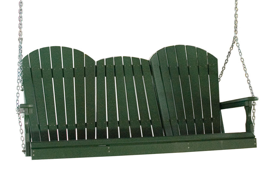 poly five foot adirondack swing