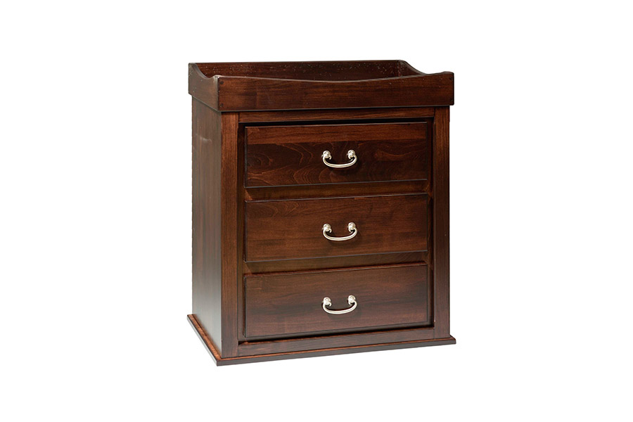 convertible three drawer nightstand