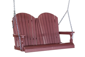 poly four foot adirondack swing