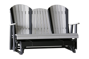 poly five foot adirondack glider