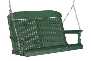 poly four foot classic swing