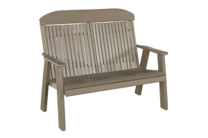 poly 4ft classic bench