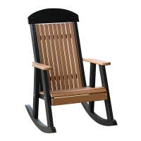 poly classic porch rocker