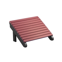 poly deluxe adirondack footrest