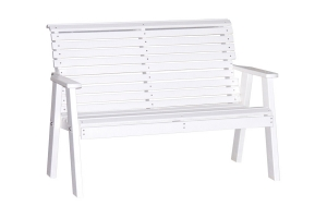 poly 4ft plain bench