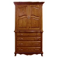 two piece armoire