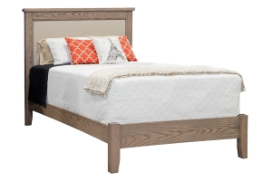 fabric panel bed