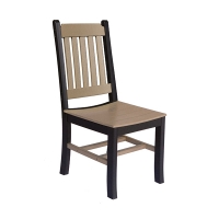 poly dining chair