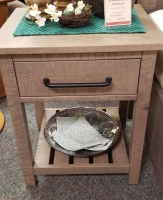 Nightstand with open base