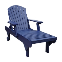 poly adirondack chaise lounge