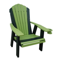 poly adirondack chair with cupholder