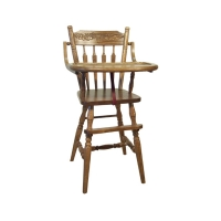 childs acorn high chair