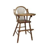 childs sheaf high chair