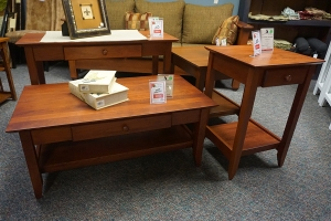 clearance classic shaker occasional tables