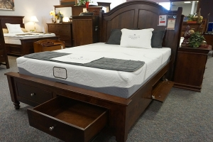 clearance sleigh bed