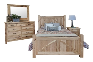 hickory bedroom set