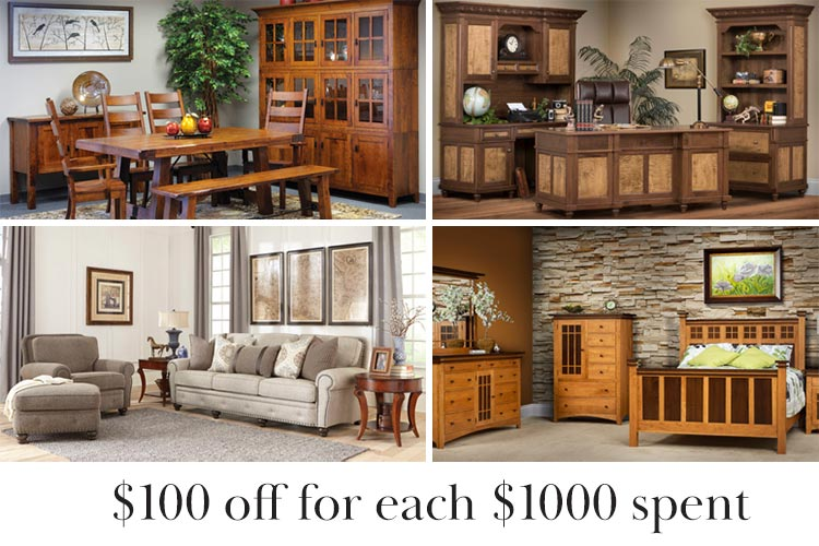 $100 off every $1000 spent