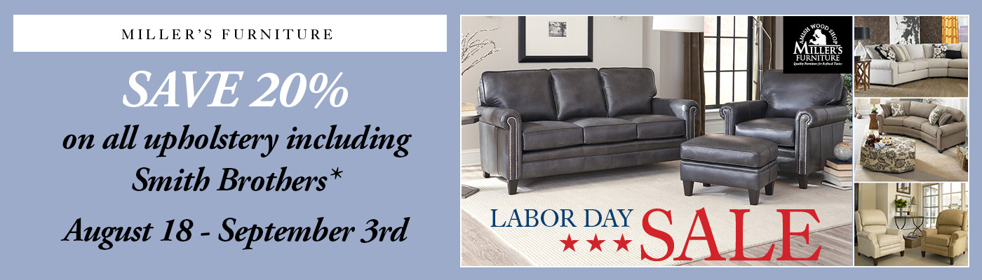 millers furniture Labor Day sale