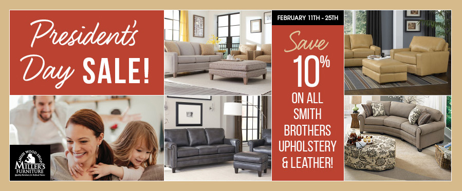 presidents day sale at millers furniture