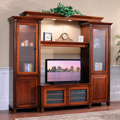 entertainment and media centers at millers furniture