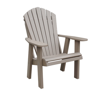 outdoor poly chairs and benches at millers furniture